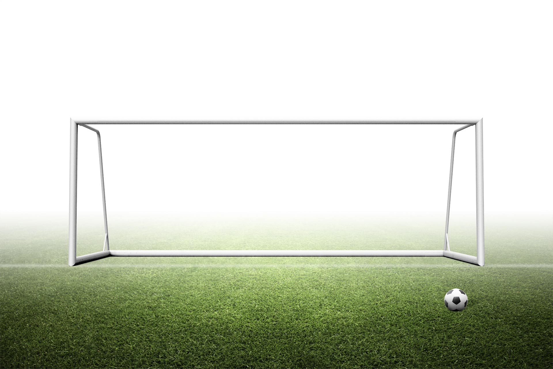 6.5'H x 18.5'W Portable junior soccer goal