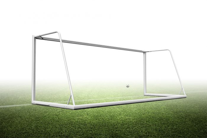 6.5'H x 18.5'W Portable junior soccer goal
