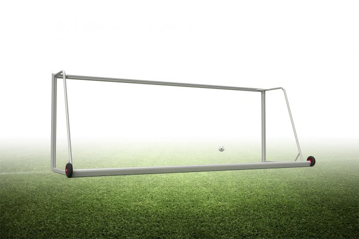 6.5'H x 18.5'W Portable safety junior soccer goal
