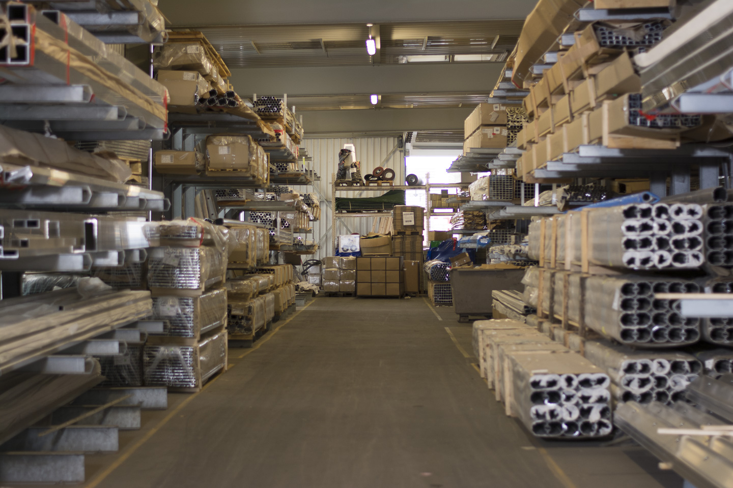 the aluminum warehouse at helo sports